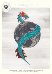 south node astrological card
