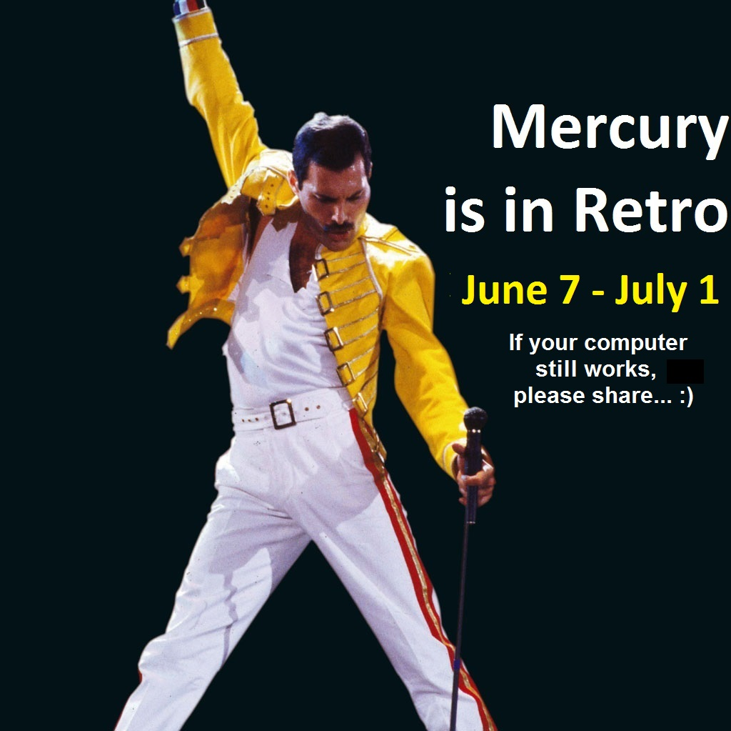 mercury retro